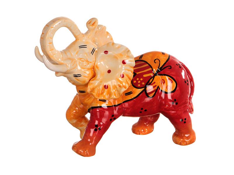 Керамические слоны статуэтки